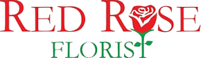 Red Rose Florist Logo