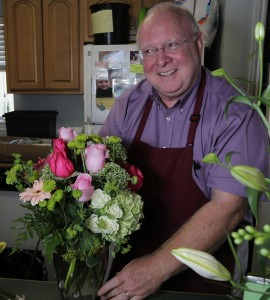 Jim Miles is the genial co-owner of A Classic Bloom. And he, himself, is a classic. Photo by Jake Nielsen/Chronicle