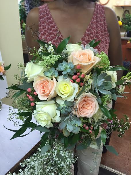 Old City Flowers Succulent Bouquet