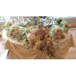 King protea boho bouquet