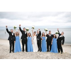 CT Shoreline beach wedding