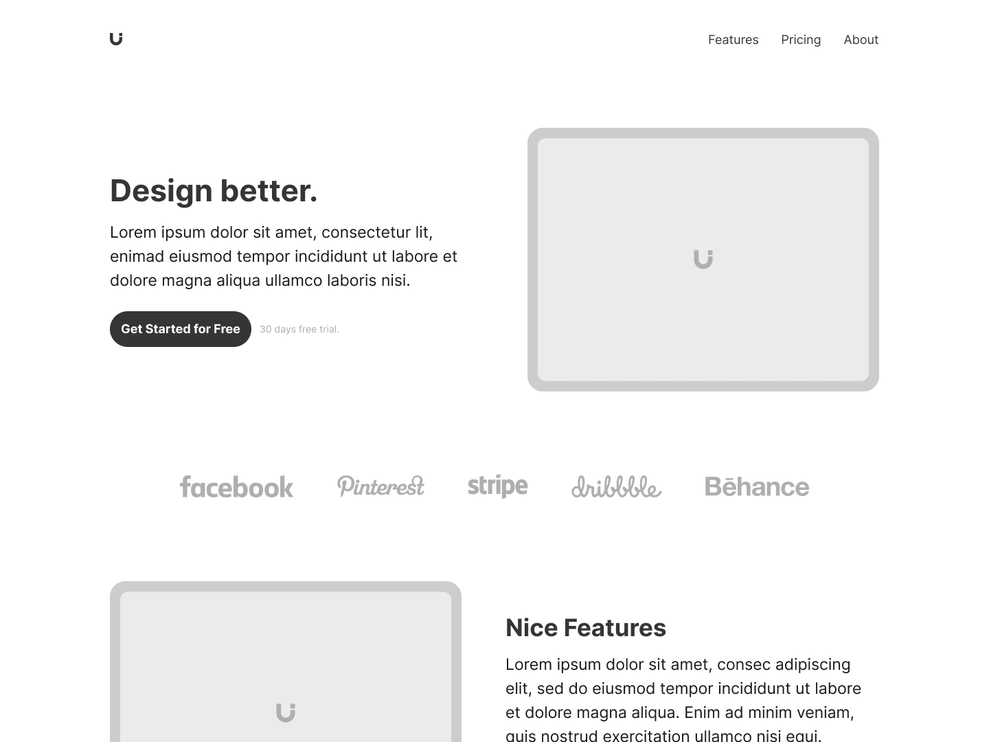 Layer: Free Landing Page Template