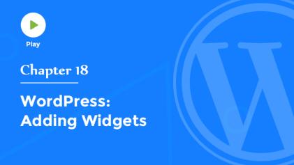 Adding Widgets in WordPress
