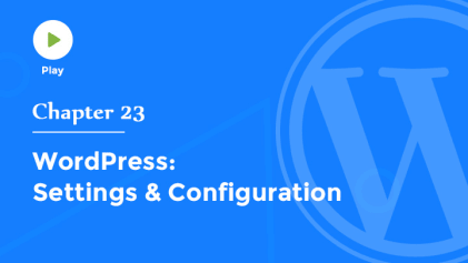 Settings & Configuration in WordPress
