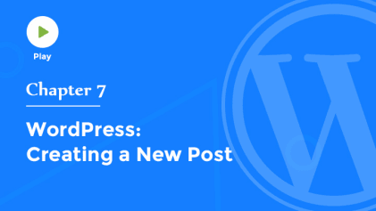 Creating a New Post in WordPress
