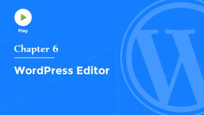 Introduction to WordPress Editor