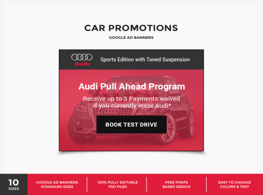Captivating CarPro   Car Promotions Google Ad Banner PSD Template In Car Ad Template