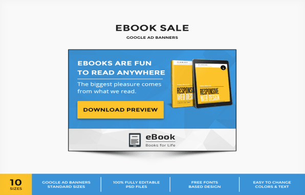 Download Free Ebook Ad Banner Code Plugins And Templates