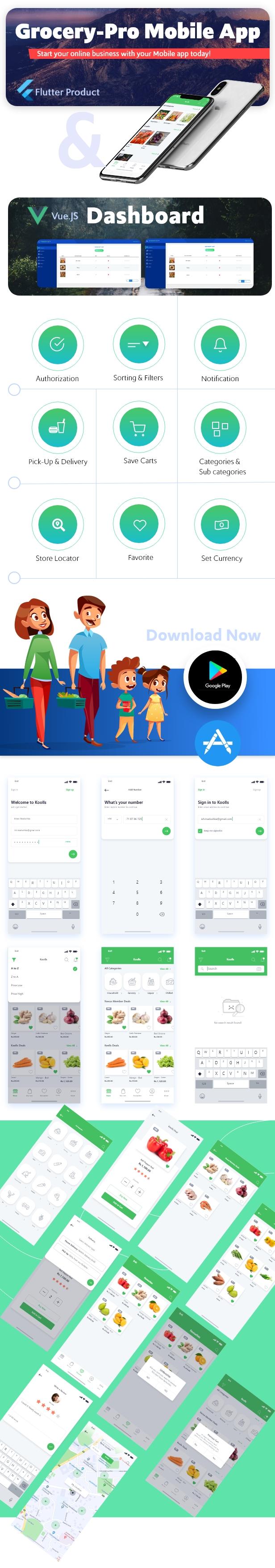 Flutter Grocery App - 3