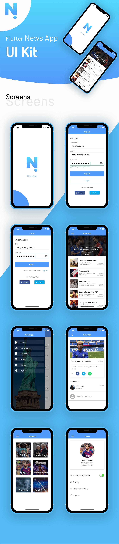 Flutter News App - 1