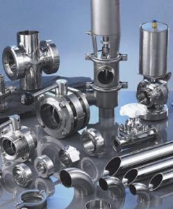 Hygienic Fittings, Valves and Adaptors