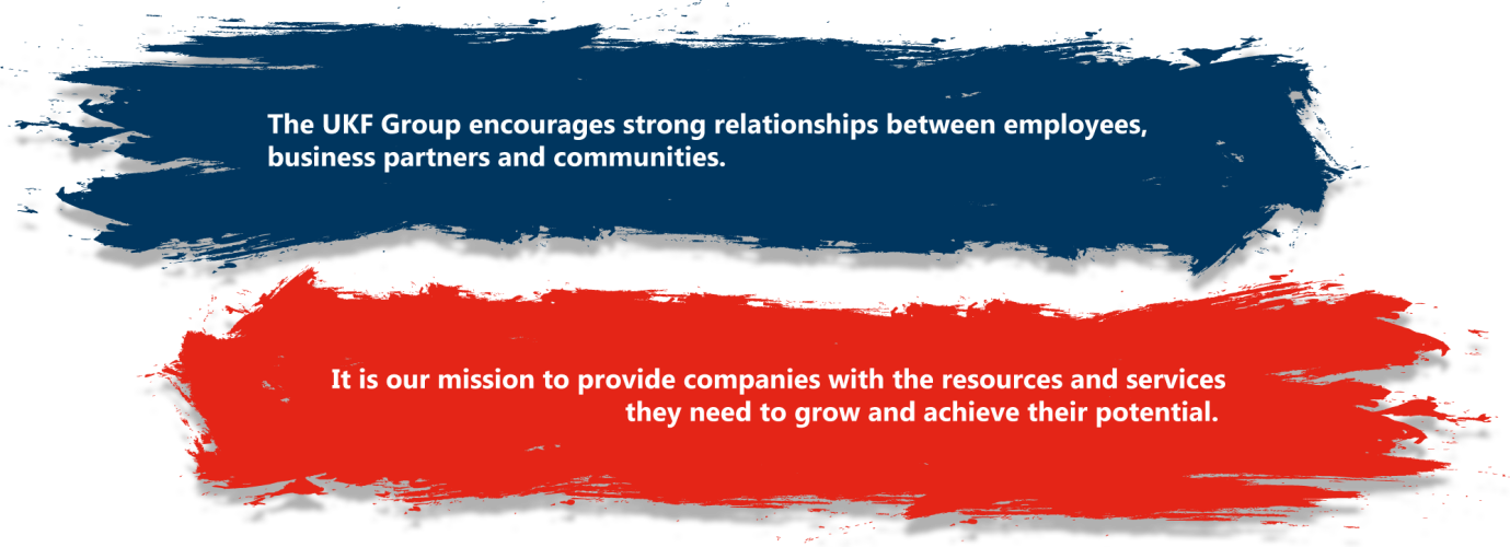 The UKF Group encourages strong relationships between employees, business partners and communities.