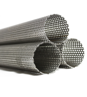 Exhaust Tube Perforated
