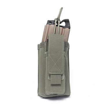 Warrior Single 5.56mm/9mm Mag Pouch Ranger Green