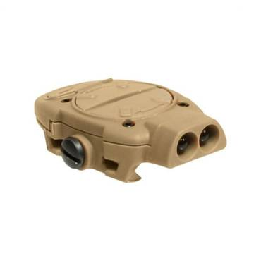 Princeton Tec Switch Rail Head Torch Tan With Red/White LEDs