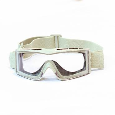 Bolle X810 Quick Release Ballistic Goggles Platinum Coated Lens Sand Frame