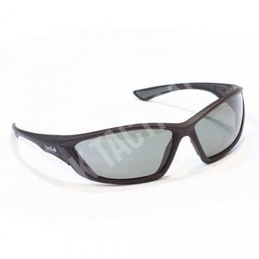 Bolle SWAT Ballistic Sunglasses With Polarized Lenses, Black Frames
