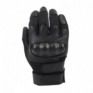 Warrior Firestorm Hard Knuckle Glove With Kevlar Black