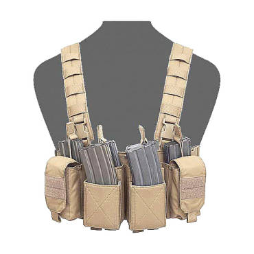 Warrior Pathfinder Chest Rig Coyote Tan