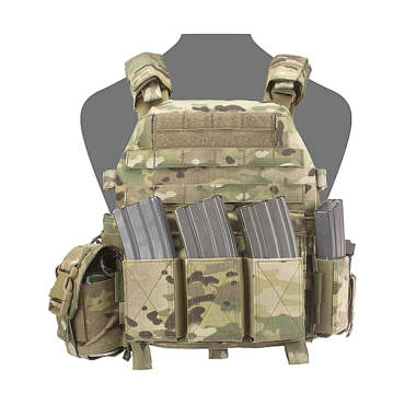Warrior DCS Low Profile Medium/LARGE MultiCam