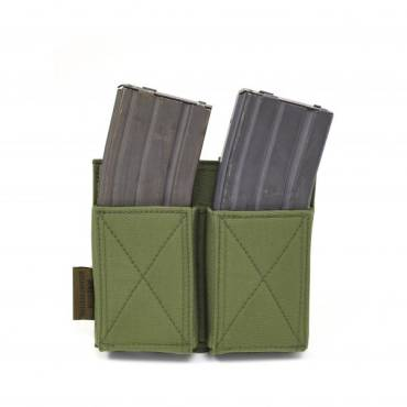 Warrior Double Elastic Mag Pouch Olive Drab