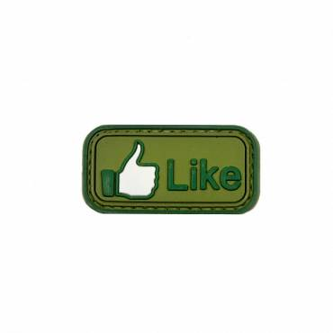Tactical Like Green Rubber Velcro Patch