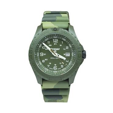 Traser 106631 H3 Soldier Watch Camo Rubber Strap