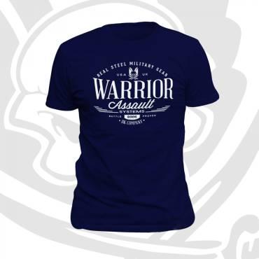 Warrior Vintage T-Shirt Navy
