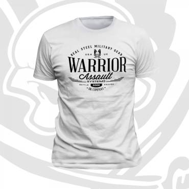Warrior Vintage T-Shirt White