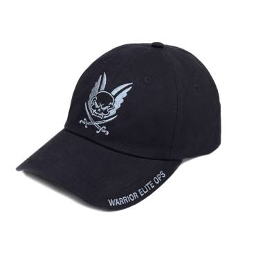 Warrior Elite Ops Logo Cap with Embroidery Black
