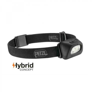 Petzl Tactikka + 250 Lumen Headlamp Black - New Version