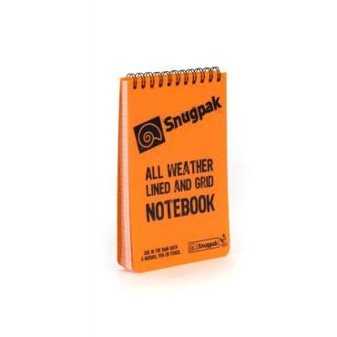 Snugpak-87801-Water Restist Notebook Orange