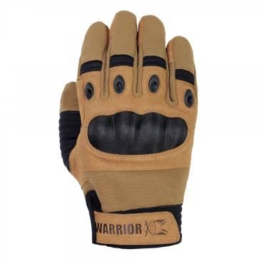 Warrior Omega Hard Knuckle Glove Coyote Tan