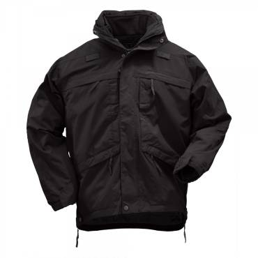 5.11 3-in-1 Parka With Removable Fleece Jacket - Black