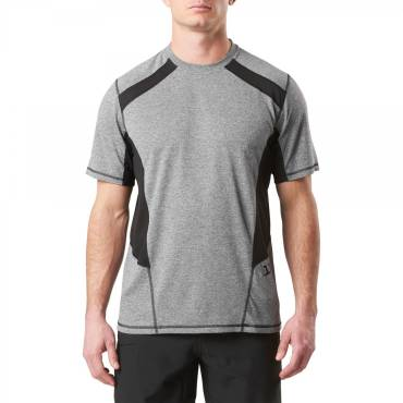 5.11 Recon Exert Moisture Wicking Training Top - Charcoal