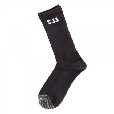 """5.11 3-Pack Sock 6"""" - Black"""