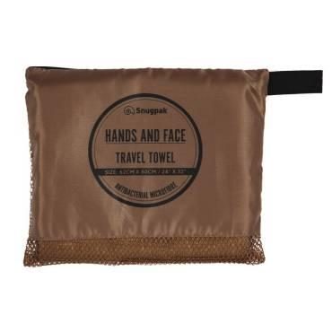 Snugpak Hand and Face Towel Tan