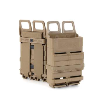 ITW FastMag 5.56mm Magazine Pouch Gen 4 For MOLLE Rig Attachment Coyote Tan
