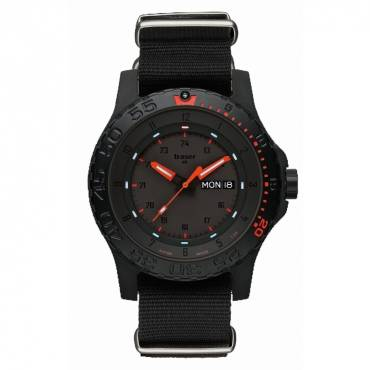 Traser Red Combat Military Watch