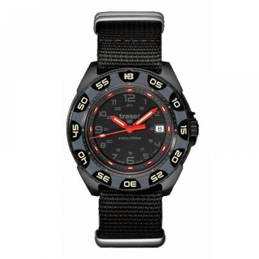 Traser Red Alert - T100 illumination Military Watch