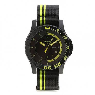 Traser Green Spirit Military Watch