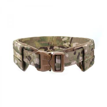 Warrior Low Profile MOLLE Belt MultiCam with Polymer Cobra Belt