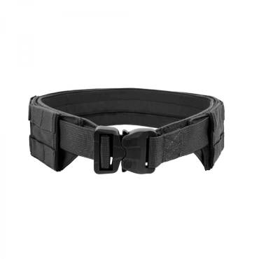 Warrior Low Profile MOLLE Belt Black with Polymer Cobra Belt