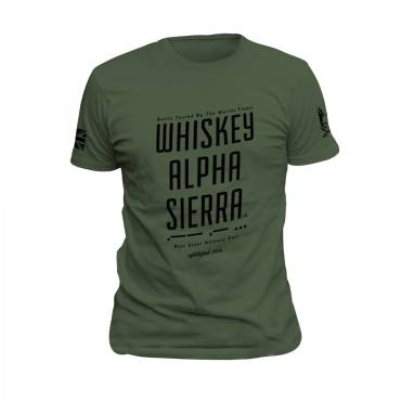 Whiskey Alpha Sierra T-Shirt OD Green