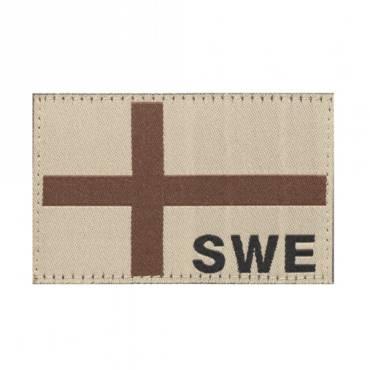 Clawgear Sweden Flag Patch Desert 20986