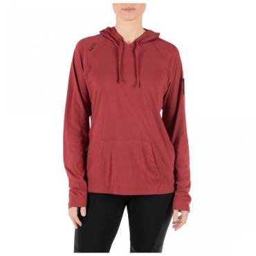 5.11 Women's Cruiser Performance L/S Hoodie Cabernet