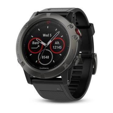 Garmin fenix 5x, Sapphire, Slate Gray, GPS Watch, EMEA