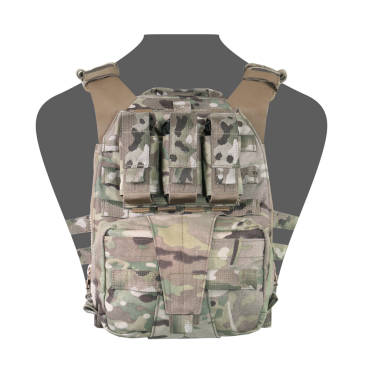 Warrior Assaulters Back Panel Multicam