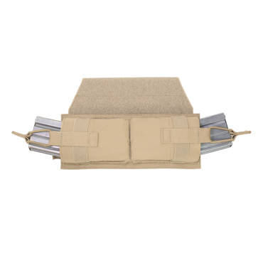 Warrior Horizontal Velcro Molle Panel Coyote Tan