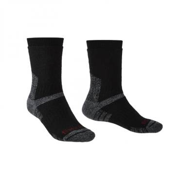 Bridgedale 710151 Explorer HW Merino Performance Unisex Sock Black